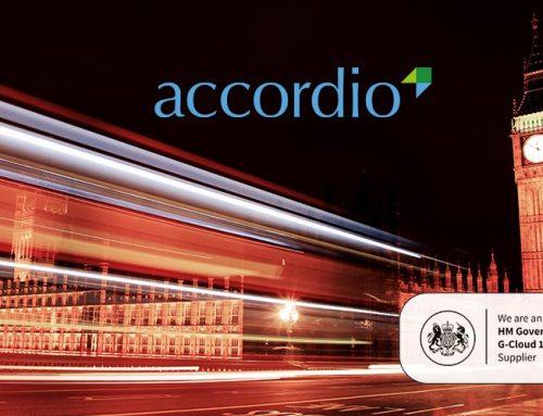 More G-Cloud success for Accordio Ltd
