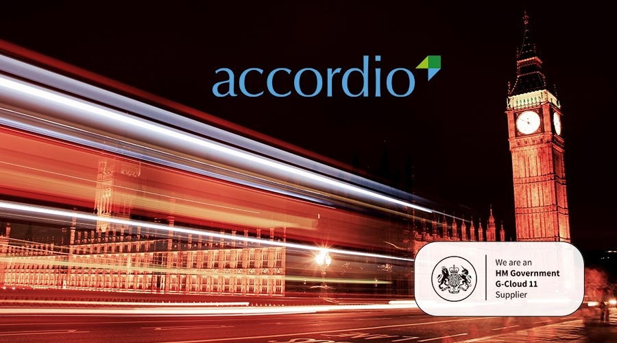More G-Cloud success for Accordio Ltd